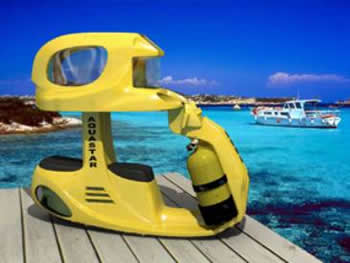 Aqua Star USA Launches Sleek New High Tech Underwater Sea Scooter for Two