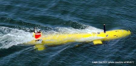 Explorer AUV depth record