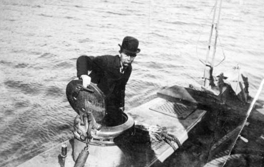 The Irishman who invented the modern submarine