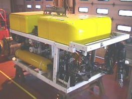 Closeup image of the Scorpio ROV image