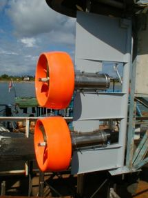 The Silvercrest Submarines 11.5Kw Thruster System