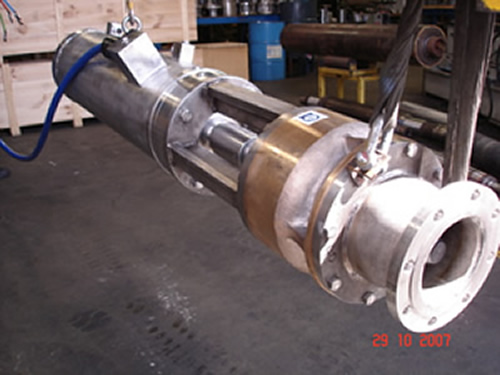 Submarines and rovs for sale and hire by silvercrest for Submersible hydraulic pump motor